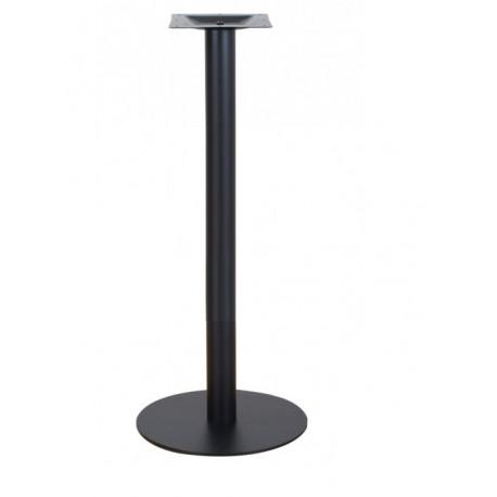 patas para mesas redondas altas color negro