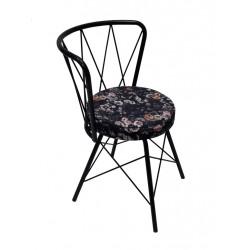 Circus Velvet Flowers Chair