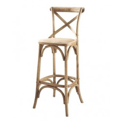 Crossback Thonet stool