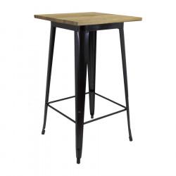Table Tools High Black Wood