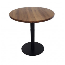 Athens Round Wood Table