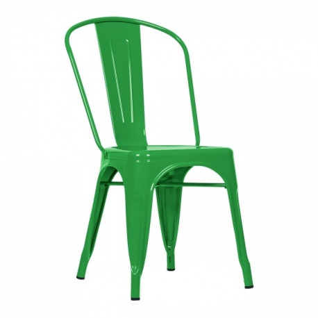 Silla Tolix Verde Hierba