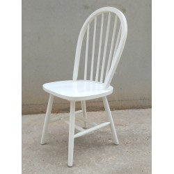 Broken White Windsor Chair