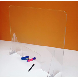 TRANSPARENT METHACRYLATE BULKHEAD