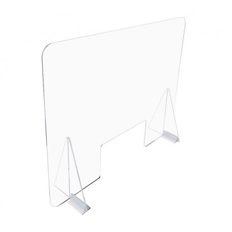 pantalla proteccion metacrilato transparente