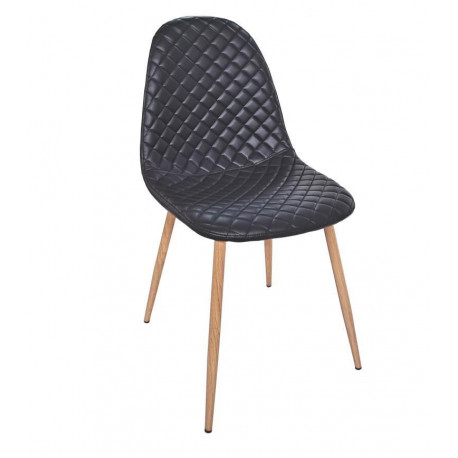 CHAIR MOON LEATHER MOLE