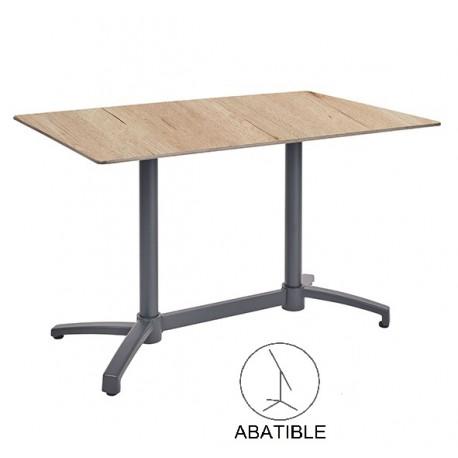 mesas de terraza bar compacto roble antracita kosov