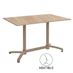 Mesas de terraza bar rectangular 110x70 120x80 kosov