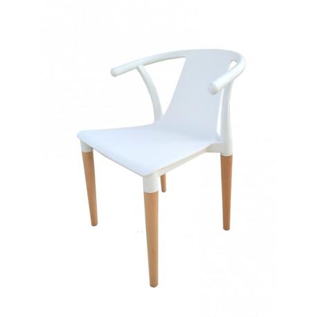 silla tokio blanca