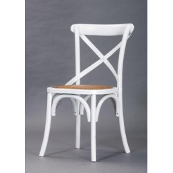 Silla replica  thonet blanco
