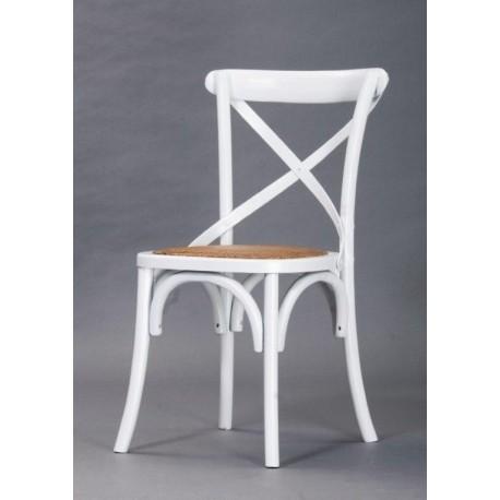 Silla replica  thonet blanco