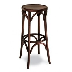 taburete r25 vintage madera haya curvada cafetin hosteleria thonet
