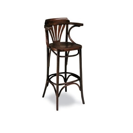 Silla r23 vintage madera haya curvada cafetin hosteleria thonet