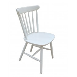 Silla  Nordic  Blanca replica windsor