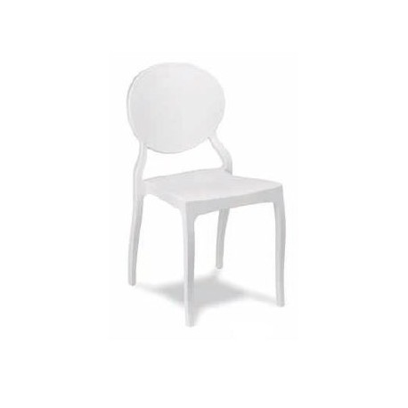 WHITE MR1125 CHAIR