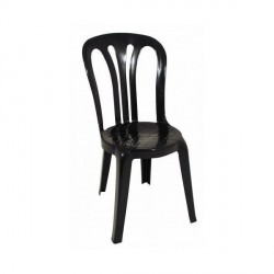 silla garrotxa negra white apilable polipropileno plastico terraza diseño