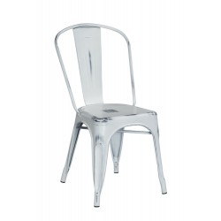 Chair Tools white distressed