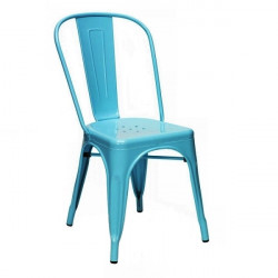 Tools Chair Turquoise Blue