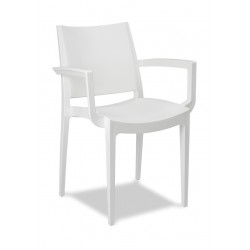 21MR63 WHITE CHAIR