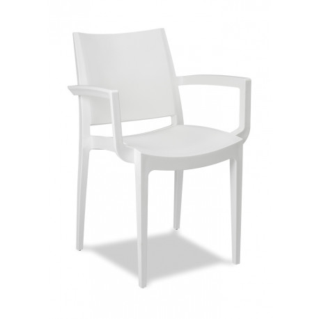 CHAIR 21MR63 WHITE