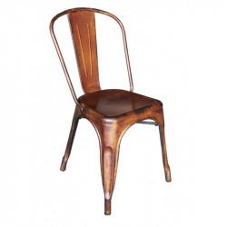Silla vintage Tools Rusty silla chair tolix rosillo