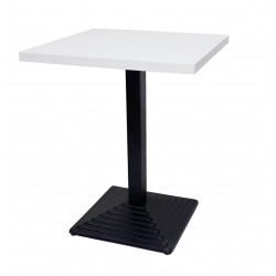 White Melamine Nile Table