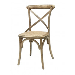 Silla  Thonet cruz natural