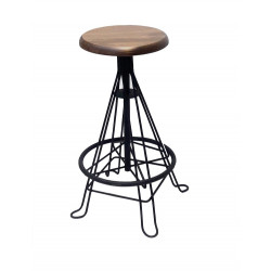 Lincon Wood Stool