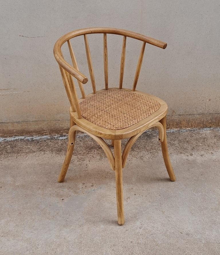 sillas madera rattan bistro thonet