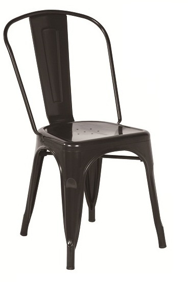silla tolix negra