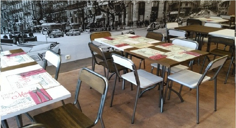 industrial vintage retro chairs for bars and restaurants